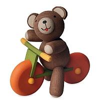 Glücksbärchen mit Laufrad