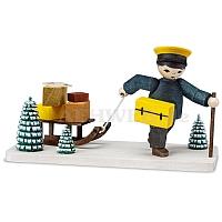 Postbote gebeizt
