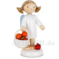 Angel with Basket of Apples