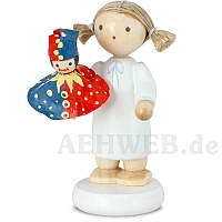 Angel with Kasperle Puppet