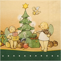 Napkins Wendt & Kuhn The Magic of Christmas