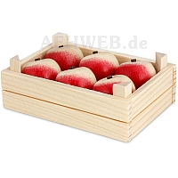 Fruit Crate with Apples