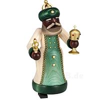 Räuchermann König mit Pokal gebeizt