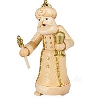 Räuchermann König mit Pokal natur