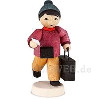 Junge mit Koffer gebeizt von Ulmik