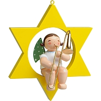 Angel with Trombone in the Star