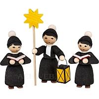 Weihnachtsmarktkurrende schwarz gebeizt von Ulmik