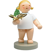 The Dreamer Angel with Butterfly Gold-Plated Goldedition No. 13