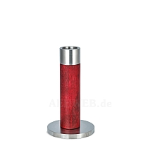 Candlestick red 13 cm
