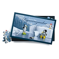 Puzzle Penguins on Ice 24 pieces