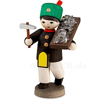 Winter child miner ore carrier stained