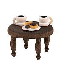 Kaffeekränzchen Kaffeetisch gebeizt