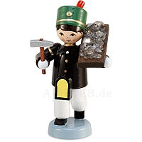 Winter child miner ore carrier lacquer painted from Ulmik