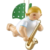 Engel mit Saxofon schwebend von Wendt & Kühn
